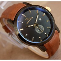 Ripcurl detroit chrono detik leather baru