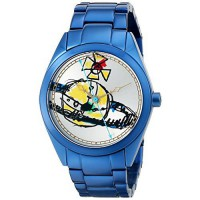 [poledit] Vivienne Westwood Women`s VV072SLNV St. Paul`s Analog Display Swiss Quartz Blue /7401055