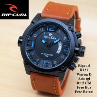 Jam tangan Pria / Cowok Murah Ripcurl Diamond Brown In Blue Color