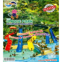 [Voucher Buku] The Unique Park, Waterboom Sawahlunto - Senilai Rp 750.000,-