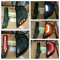 HONDA JAZZ GK5 2014-ONWARD TAIL LIGHT AXIS SMOKE GLASS