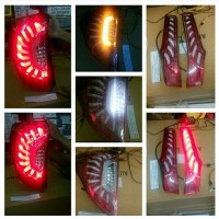 HONDA JAZZ GK5 2014-ONWARD TAIL LIGHT AXIS STYLE RED ANODISE