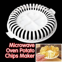 [globalbuy] Hot Sale DIY Low Calories Microwave Oven Fat Free Potato Chips Maker Home New/3161632