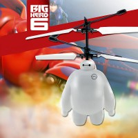 Big Hero 6 Baymax Flying Helicopter Induction Aircraft