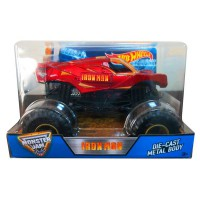 HW151 Hot Wheels Monster Jam Iron Man Die Cast (1:24) Scale Original Item