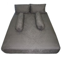 King Koil Sprei Eduardo 180 X 200 Grey