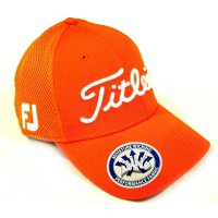 Titleist Golf Caps Sport Mesh Orange