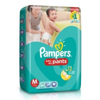Pampers Popok Baby Dry Pants - M 58