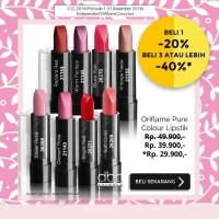 ORIFLAME PURE COLOUR LIPSTICK