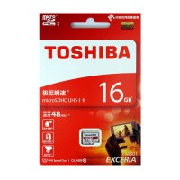 Toshiba MicroSD UHS-I EXCERIA Class 10 48 MB/s Non Adapter