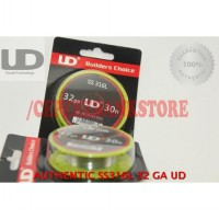 Authentic SS316L 32 GA AWG by UD / SS 316 L PREMIUM