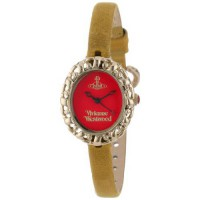 [poledit] Vivienne Westwood Women`s VV005RDYL Rococo Swiss Quartz Yellow Leather Strap Wat/7401619