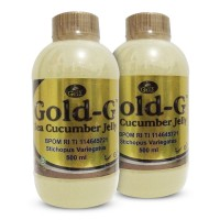 (2 botol 500ml) Jelly Gamat Gold G 1Kg Original