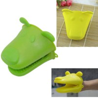 [globalbuy] Cute Silicone Kitchen Oven Baking Glove Pot Mitt Tool Holder Heat Resistant (R/3163533