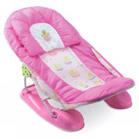 Summer Large Baby Bather Frog Pink