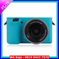 SILICONE CASE Silicone Case For Sony Alpha A6000 - Blue