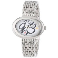 [poledit] Vivienne Westwood Women`s VV014WHSL Ellipse White Silver Watch (R1)/7401149