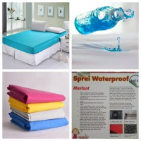 Sprei Waterproof (Anti Ompol) 180 x 200 x 30