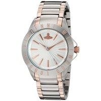 [poledit] Vivienne Westwood Womens VV099RSSL Analog Display Swiss Quartz Two Tone Watch (R/14133952