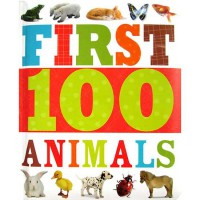 [HelloPandaBooks] First 100 Animals Board Book