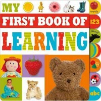 [HelloPandaBooks] My First Book of Learning Tabbed Board Book