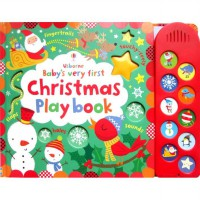 [HelloPandaBooks] Usborne Baby's Very First Christmas Play book