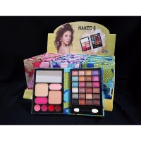 Dompet Naked Make Up Kit Ukuran Medium / Eyeshadow Palette Saku Motif