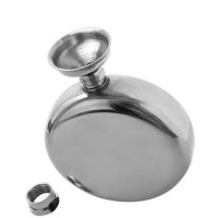 Hip Flask 5oz Round (Function : Fill the wine)