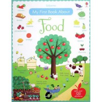 [HelloPandaBooks] Usborne My First Book about Food with over 120 stickers