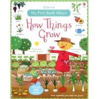 [HelloPandaBooks] Usborne My First Book about How Things Grow with over 100 stickers