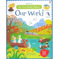 [HelloPandaBooks] Usborne My First Book about Our World with over 100 stickers
