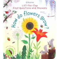[HelloPandaBooks] Usborne Lift-the-flap First Questions and Answers How do Flowers Grow?