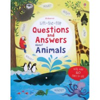 [HelloPandaBooks] Usborne Lift-the-Flap Questions and Answers about Animals