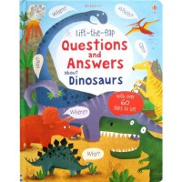[HelloPandaBooks] Usborne Lift-the-Flap Questions and Answers about Dinosaurs