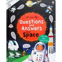 [HelloPandaBooks] Usborne Lift-the-flap Questions and Answers about Space