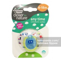 Tommee Tippee Closer to Nature Anytime Soother 6-18m - Blue Car