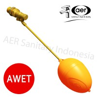 Floating Valve 3/4' AER / Pelampung Tandon Air 3/4' / Bola