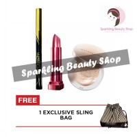 Maybelline Wing It All Package Thin Line - Gratis Exclusive Bag!