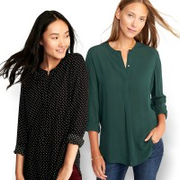 The-Fahrenheit Light Weight Relaxing Blouse