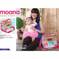 Gabag Cooler Bag Moana - Free 2 Ice Gel