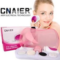 Pembersih Wajah CNAIER 7 in 1 - Cnaier Beauty Facial Cleanser Set 7 in 1