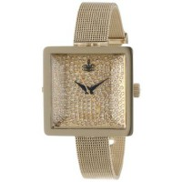 [poledit] Vivienne Westwood Womens VV053GDGD Lady Cube Gold Tone Stainless Steel Swiss Qua/14133967