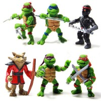 Ninja Turtle 6 in 1 Action Figure - Multi-Color