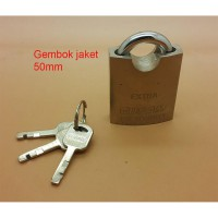 Gembok 50mm jaket ( anti maling )