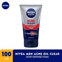 NIVEA Men Acne Oil Clear Acne Defense Foam 100ml