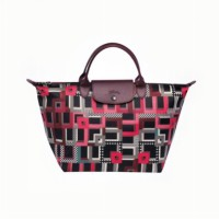 Tas Wanita AUTHENTIC Longchamp LePliage Neo Artwork Medium