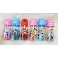Botol Minum Karakter Anak Disney Tsum,My Little Pony,Cars,Frozen,Thomas and Friends 500ml Bpa Free