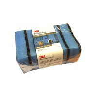 3M Professional Medium Duty Pad Power Blue - 13cm X 7.5cm (5 pads / bundle) - Spons Tidak Menggores