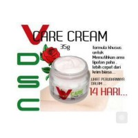 DSC V-Care Cream Original / Pemutih Selangkangan