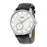 [macyskorea] Mido Baroncelli II Silver Dial Automatic Ladies Leather Watch M007.228.16.036/10049317